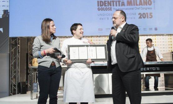 Con Paolo Marchi e Laura Lazzaroni sul palco di Identità Milano 2015