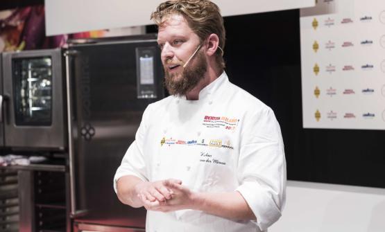 Kobus van der Merwe ha lasciato un lavoro da giornalista enogastronomico per dedicarsi alla cucina