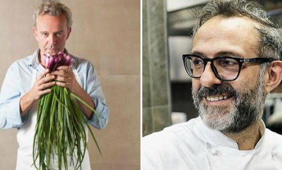 The cooks who changed his life? Passard and Bottura