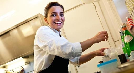 Marianna Vitale, chef del ristorante Sud di Quarto