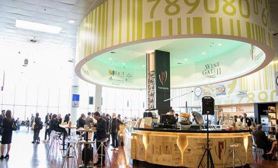 """WineGate 11 della food court """"Italy loves food"""" all'aeroporto di Orio al Serio"""