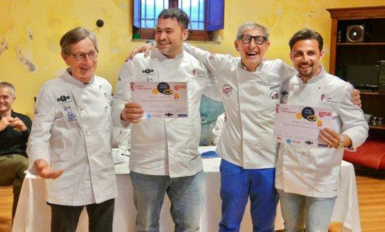 Arnaldo Conforto, Antonio Adamo, Vetulio Bondi e Stefano Baglieri