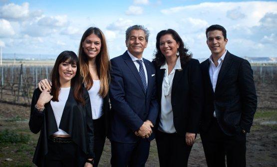 La famiglia Varvaglione al completo