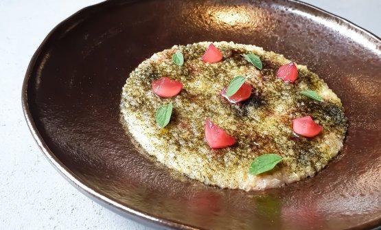Quinoa, Burro, Parmigiano, Origano, Ravanelli fermentati
