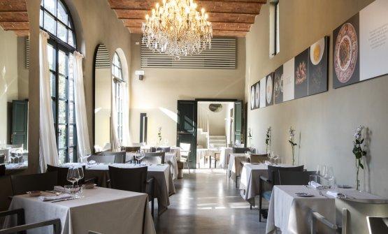 La sala de L'Imbuto a Palazzo Pfanner di Lucca (fotoLido Vannucchi)