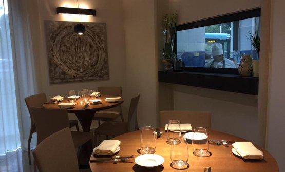 La sala del ristorante Duo
