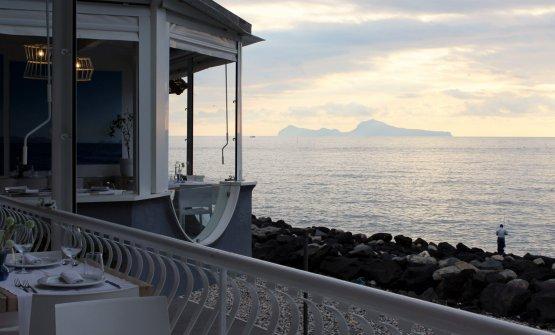 La vista dalla terrazza di San Pietro - Bistrot del Mare