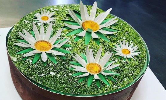 La torta Camomilla