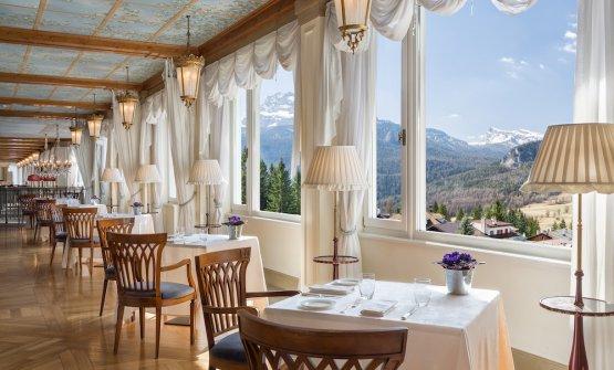 I tre ristoranti del Cristallo:La Veranda...