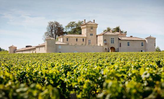 Il castello Lafaurie-Peyraguey, una superficie vitata di 36 ettari,divisi traVigne di Sémillon, Sauvignon Blanc e Muscadelle. Otto secoli di storia per un Sauternes raffinato edelegante
