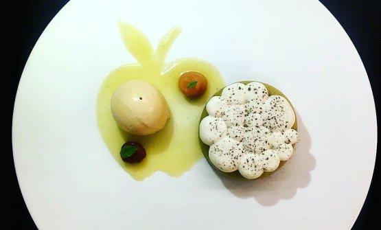Due dessert firmati Fiorelli: La Mela...