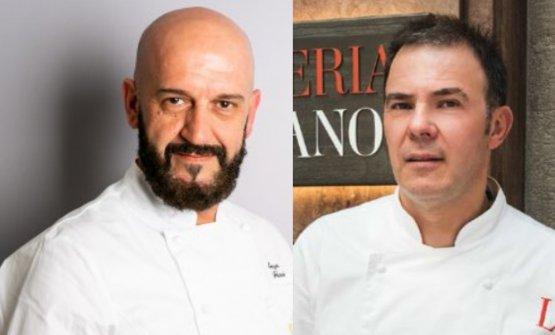 I due chef protagonisti del secondo quattro mani d