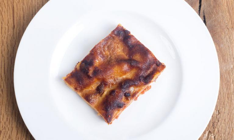 E ci saranno anche le lasagne... (foto Francesco Fioramonti)