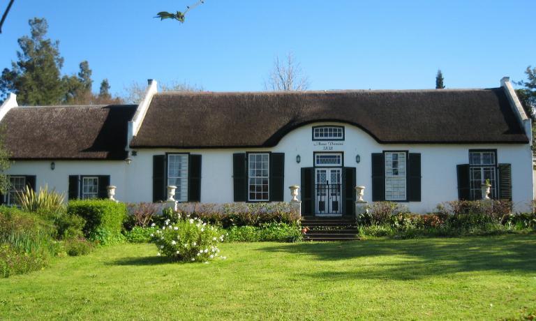 Il Cornelia's Cottage, un edificio del 1838, che ospita ristorante e guesthouse della Sosta