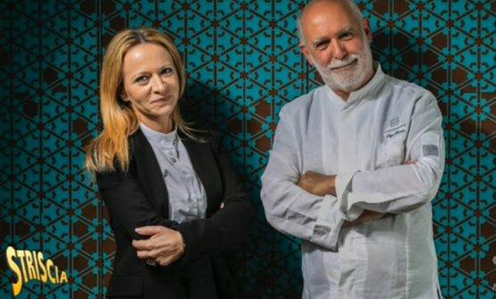 Stefania Lattuca e Peppe Barone, soci in Terrammare a Milano