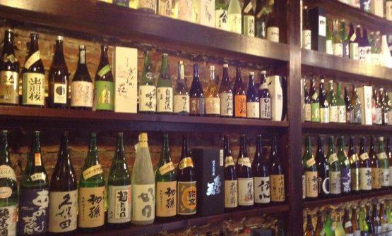 Le 150 etichette di Sake raccolte da Sakeya