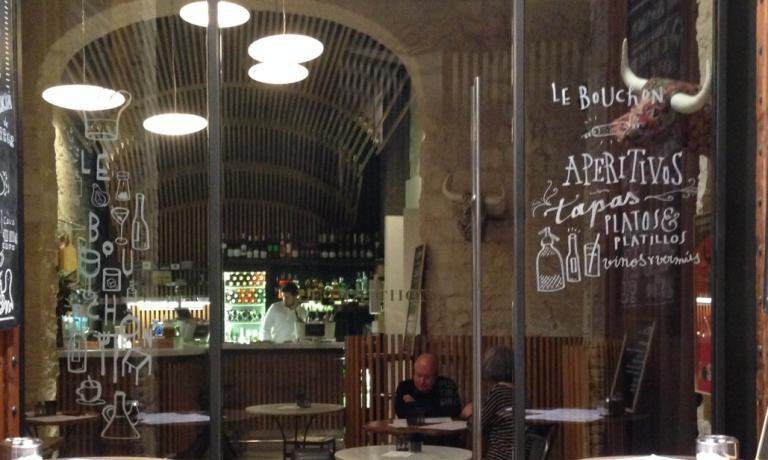 L'entrata di Le Bouchon