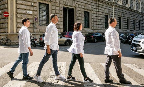 Via Romagnosi o Abbey Road?