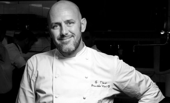 Daniele Usai, chef del Tino(una stella Michelin)