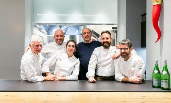 Gli chef ospiti per questa settimana a Identità G