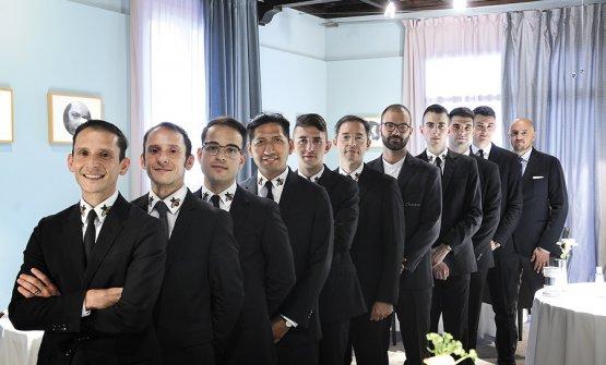 Il team dell'Osteria Francescana