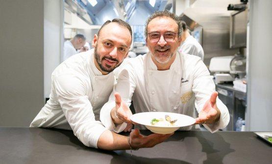E con il resident chef Alessandro Rinaldi