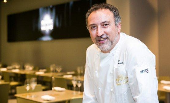 Lino Scarallo, chef diPalazzo Petrucci a Villa D