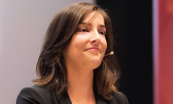 Lisa Casali, presentatrice della giornata