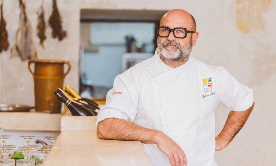 Lo chef Ippazio Turco (foto Daniele Met)