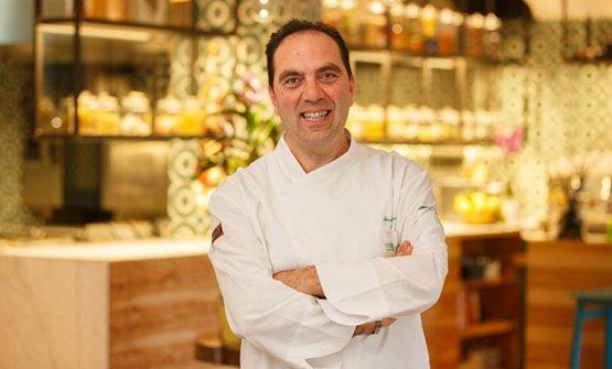 Mimmo De Gregorio, patron e sommelier del ristorante Lo Stuzzichino, diSant'Agata sui Due Golfi (Napoli)