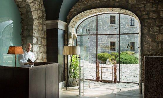 La Locanda del Borgo, all'interno dell'Aquapetra Resort