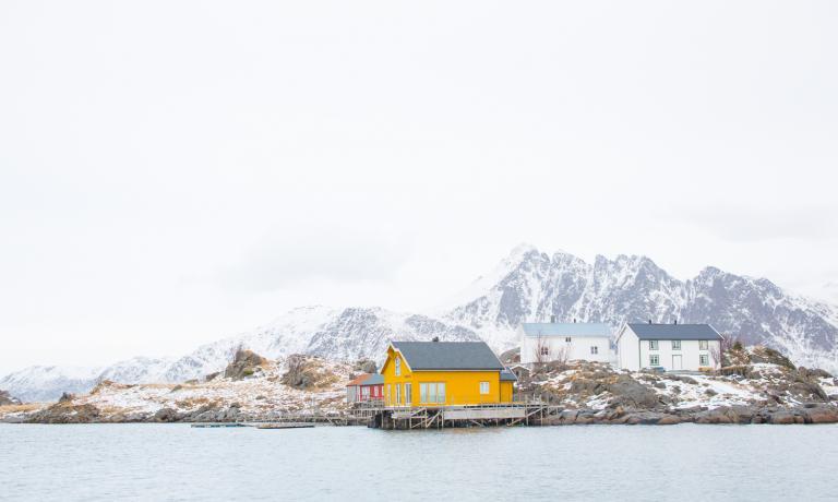 Le isole Lofoten non sono solamente un luogo magico, caratterizzato da panorami intensi e romantici. Ma sono anche il centro della pesca del merluzzo in Norvegia, dopo la Cina la più importante del mondo per quantità