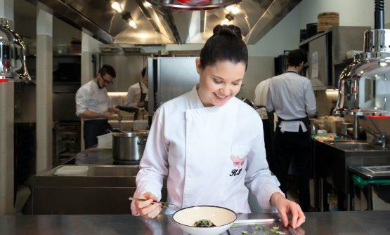 Karime Lopez, chef diGucci Osteria da Massimo Bottura