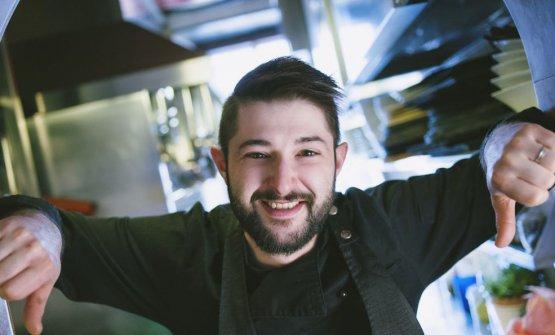 Lorenzo Romano, chef diInsolita Trattoria Tre So