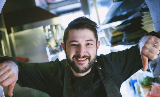 Lorenzo Romano, classe 1989, chef patron dell'