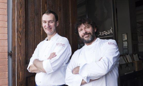Luca De Santi e Cesare Battisti