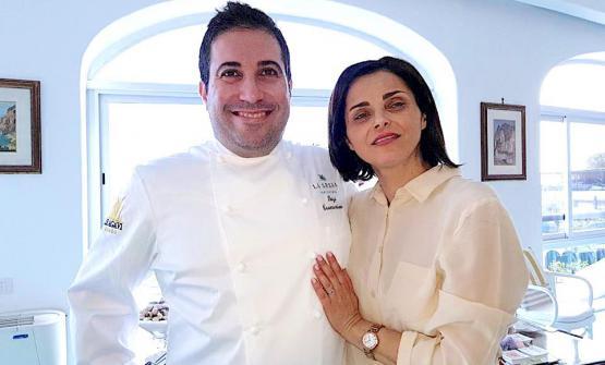 Luigi Tramontano con la moglie NicolettaGargiulo