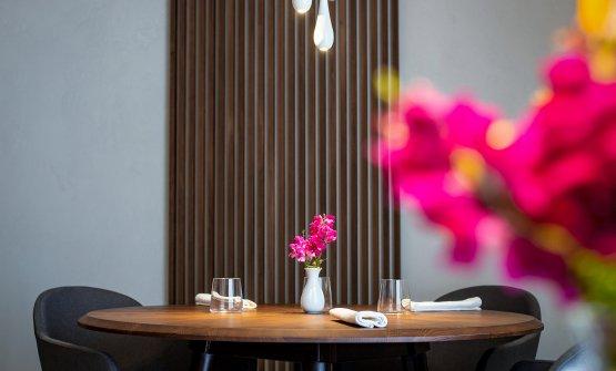 La sala del ristorante Luigi Lepore