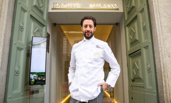 Lo chef Luigi Taglienti. È protagonista di quattr