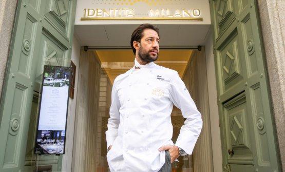Luigi Taglienti con un grande menu inaugura i Pranzi d'Autore a Identità Golose Milano