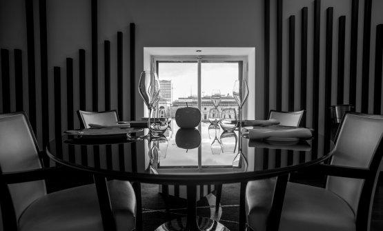 La sala del ristorante Felix Lo Basso
