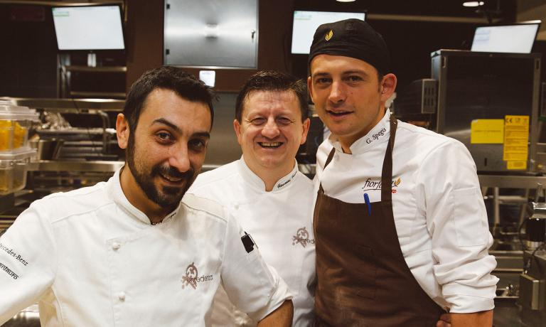 Igor Macchia, Giovanni Grasso e Giovanni Spegis