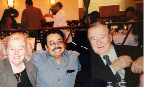 Con il maestro pasticciere Francisco Gutierrez, il maestro della leggendaria creme brulée de Le Cirque