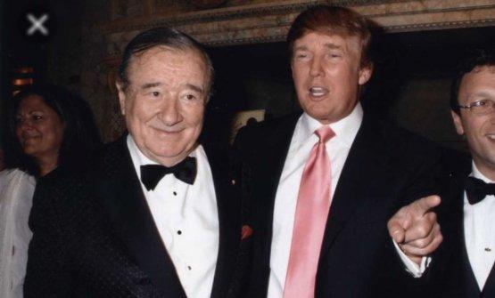 ...e con un Trump più giovane