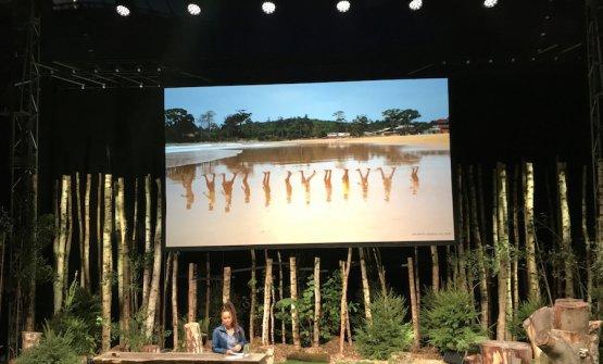 Jeannette Ehlers, visual artist multi disciplinare, danese con radici a Trinidad, impegnata nel recupereo della memoria legata allo schiavismo di matrice danese nei Caraibi