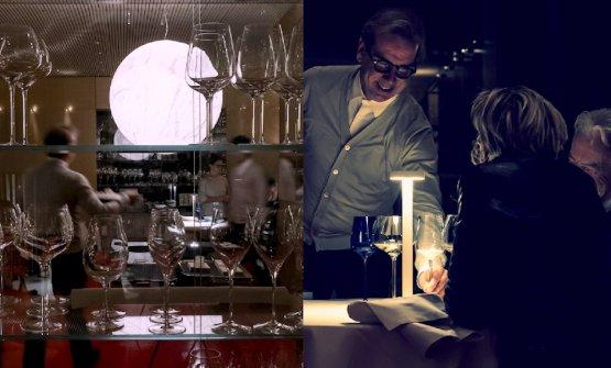 Moon(Davide Groppi, 2005) e Tetatet alla Madonnina del Pescatore