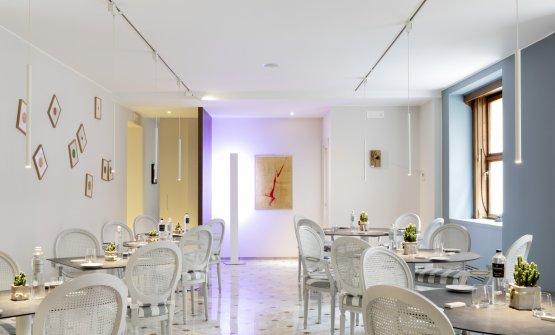 La sala del ristorante I Due Buoi