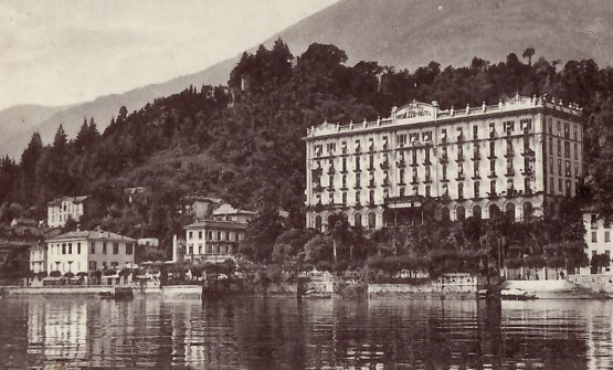 Grand Hotel Tremezzo one century ago