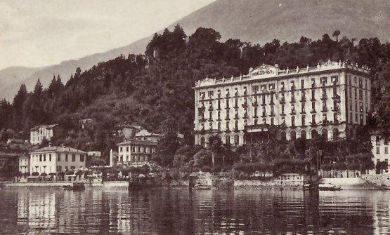 Il Grand Hotel Tremezzo un secolo fa