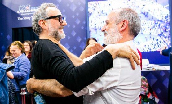 Massimo Bottura e Corrado Assenza uniti in un abbr